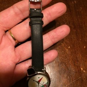 Critter Time Accessories - Whimsical Working Snowman ⛄️ Face Watch